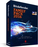Bitdefender Family pack 1 year unlimited...