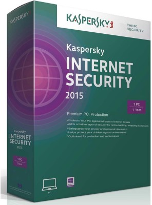 Kaspersky 2015 Internet Security Software 1 Yr 1 User