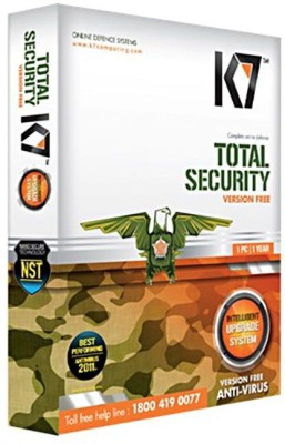 K7 Total Security Latest Version 1 Pc 1 Year Sealed Box Pack