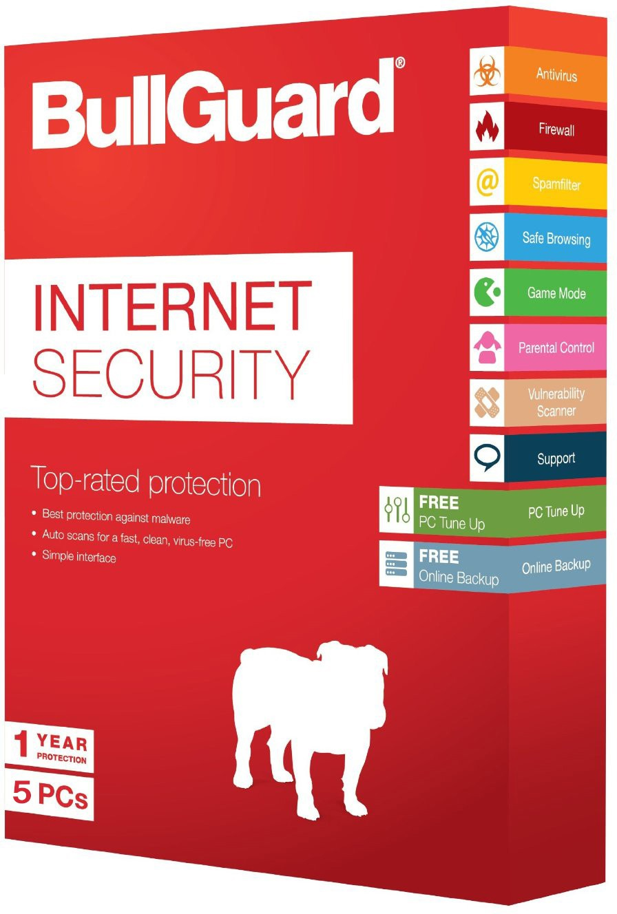 BullGuard Internet Security 5PC 1Year