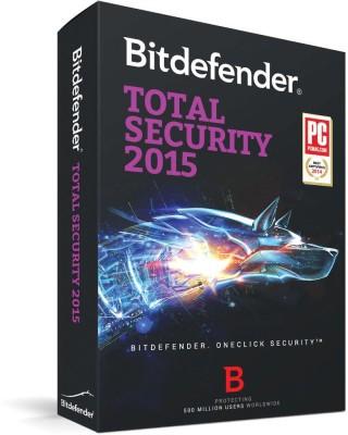 Bitdefender Total Security 2015 - 3 User 1 Year