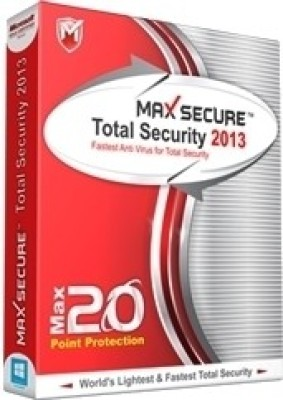 Max Secure Total Security 2013 1 PC 1 Year