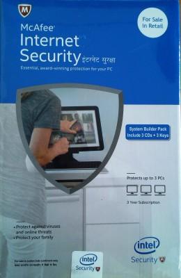 Mcafee Intel Internet Security 3user 3 year version