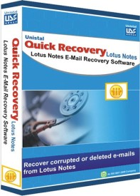 Quick Recovery For Lotus Notes (Personal), Lotus Notes Email Recovery Software