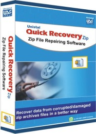 Quick Recovery For Zip (Personal), Zip File Repairing Software