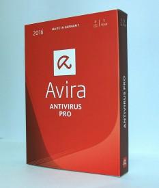 Avira Avira Antivirus Pro 3 User 1 Year