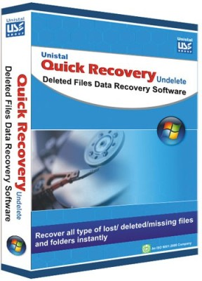 Quick Recovery Undelete (Personal),Deleted Files Data Recovery Software