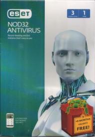 Eset NOD 32 Antivirus Version 8 (Free Upgradable to Version 9) 3 PCs, 1 Year + 6 Months FREE (Total 18 Months)