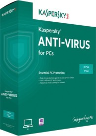Kaspersky Anti-virus 2016 3 PC 1 Year