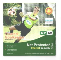 Net Protector Total Internet Security Suite 1 Year 1 User
