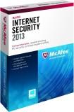 McAfee Internet Security 2013 3 PC 1 Yea...