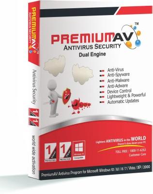 PremiumAV PremiumAV Antivirus 1 User 1 Year 2016