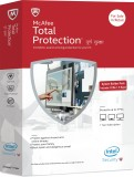 McAfee Total Protection 3 PC 1 Year
