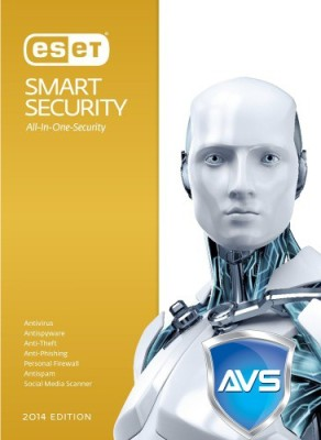 Eset Smart Security Smart Security Antivirus 5 PC 1 Year