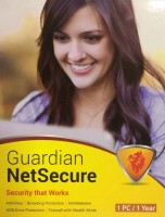 For 1 year Guardian Netsecure Antivirus