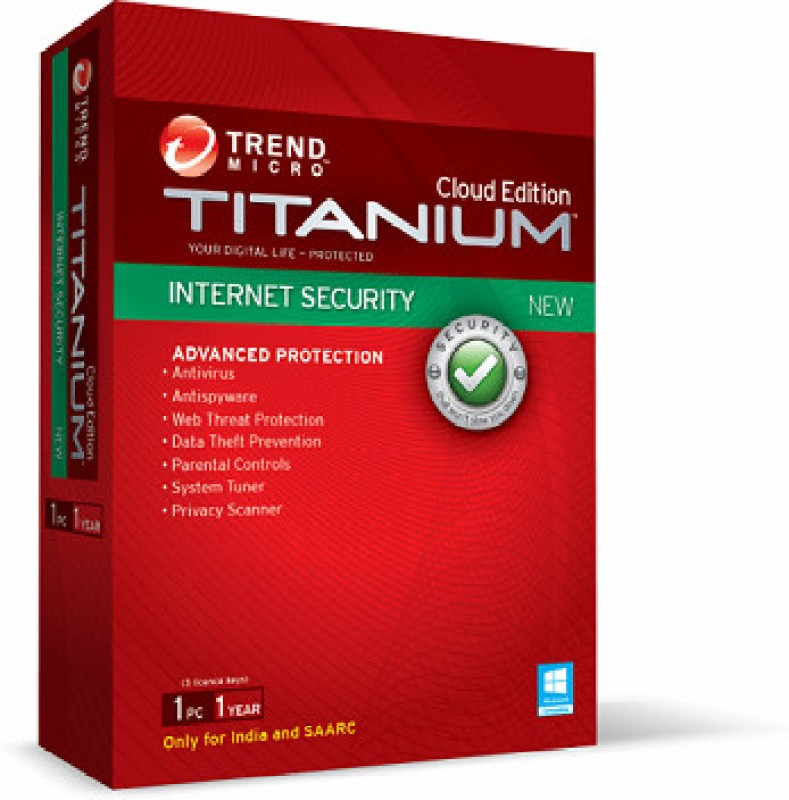 Trend Micro Internet Security 1 User - 2014