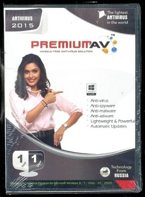 PremiumAV Anti Virus 2015 1 PC 1 Year