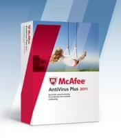 McAfee Anti-Virus Plus 2011 1 PC 1 Year