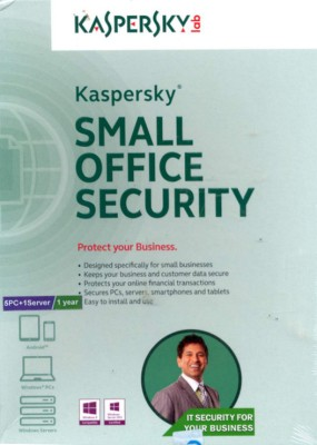 Kaspersky Small Office Security 5 PCs 1 File Server 1 Year