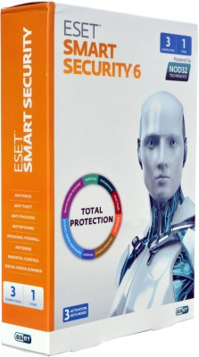 Eset Smart Security Smart Security 6 with 3 Activation keys Inside