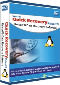 Quick Recovery For Linux (Reiserfs) (Win Platform) (Personal), Reiserfs Data Recovery Software