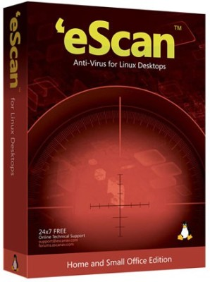 eScan Anti-Virus For Linux Desktop 3 Users 2 Years