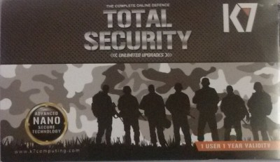 K7 Total Security 2015 Edition 1 PC 1 Year (Paper License Only)