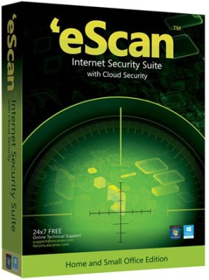eScan Internet Security Suite With Cloud Security 2 Users 1 Year