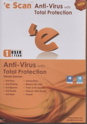 eScan Anti Virus Total Protection 2015