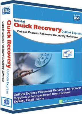 Quick Recovery Outlook Express Password (Personal), Outlook Express Password Recovery Software