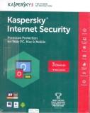 Kaspersky Internet Security 3 PC 3 Year