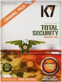 K7 Total Security 1 Pc 1year Version Fre...