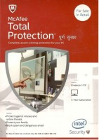 McAfee Total Protection 1 PC 3 Year