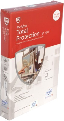 Mcafee Total Protection 1 PC 3 Year 2015