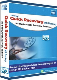 Quick Recovery For Microsoft Backup (Personal) ,Ms Backup Data Repairing Software