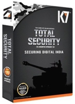 K7 Total Security 1User 1 Year New Digital India Box Pack