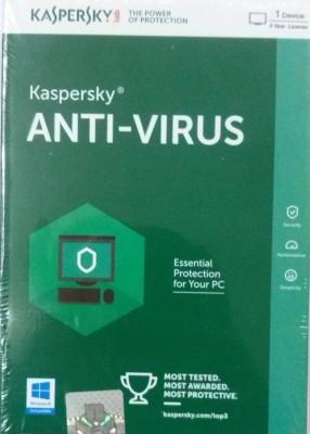 Kaspersky Antivirus 2016 1 User 3 Years