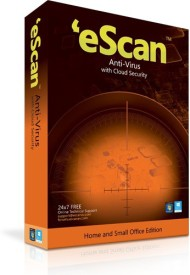 eScan Anti-Virus with Cloud Security (10 PC 1 Year)