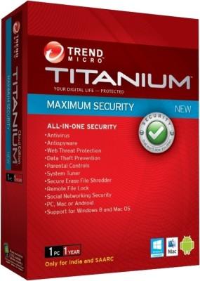 Titanium Maximum Security 1 User 1 Year