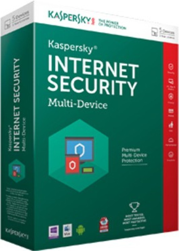 Kaspersky Internet Security 2016 5 PC 1 Year (Multi-Device)