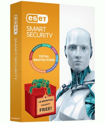 Eset Smart Security Smart Security Version 7 3PC 1Year (12+6 Months Offer)