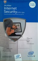 McAfee Intel Internet Security 1 Pc - 3years