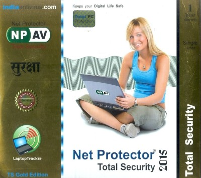 Net Protector Total Security 2014 1 PC 1 Year
