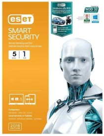 ESET Smart Security 5 PC 1 Year 2016 Edition.