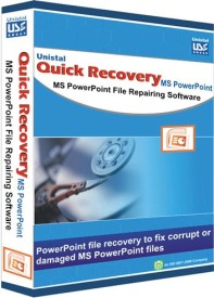 Quick Recovery For Microsoft Power Point (Personal), Ms Power Point File Repairing Software
