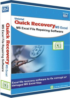 Quick Recovery For Microsoft Excel (Personal),Ms Excel File Repairing Software