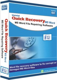 Quick Recovery For Microsoft Word (Personal),Ms Word File Repairing Software