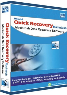 Quick Recovery For Macintosh (Personal, )Macintosh Data Recovery Software