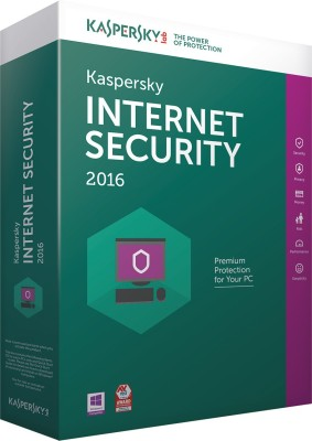 Kaspersky Internet Security 1PC - 3 Years 2016
