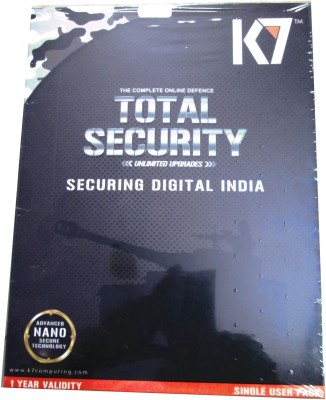 K7 Total Security 1pc 1 Year With Software CD.